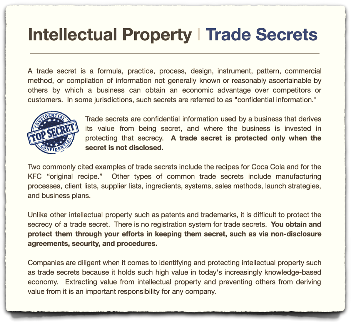 Intellectual Property Tony Walker Post